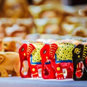 Chai wallah chai olifanten elephant